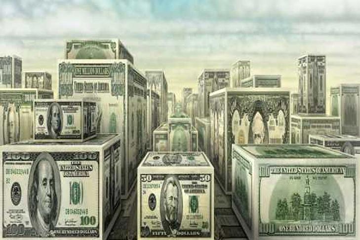 Мировая совокупная задолженность подросла дорекордных 327% ВВП