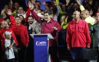 Николас Мадуро снова стал президентом Венесуэлы