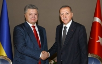 Порошенко призвал Эрдогана помочь в освобождении украинских заложников