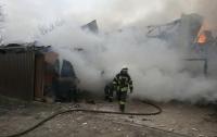 Пожар на Русановских садах в Киеве ликвидирован