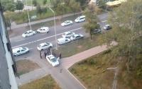 В Киеве неизвестный жестоко изнасиловал и ограбил женщину (видео)