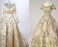 Свадебное и коронационное платья Елизаветы II выставят в Лондоне