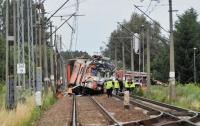 В Польше грузовик столкнулся с поездом, есть жертвы