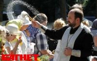 Христиане празднуют Яблочный Спас