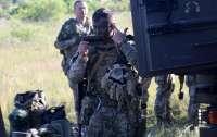 Украинские военные принимают участие в учения Saber Guardian 2021