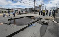 Япония пострадала от второго мощного землетрясения подряд
