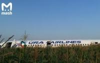 Жесткая посадка самолета в России: первые фото и видео