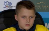13-летний украинец стал самым молодым чемпионом в мире (видео)