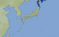 Сильное землетрясение случилось в Японии
