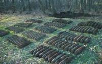 В Кривом Рогу найдены 53 снаряда времен Второй мировой