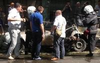 В центре Одессы взорвался автомобиль (видео)