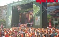 ЕВРО-2012 в Харькове: шторм и штиль в «оранжевом море» (ФОТО)