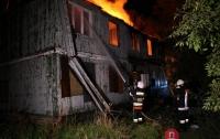 В Одессе горел санаторий. Охранники говорят о поджоге (видео)