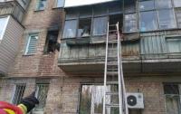 В Киеве горела многоэтажка: пострадал ребенок