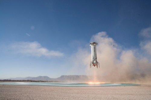 Blue Origin показала полет изиллюминатора космического корабля