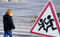 В центре Львова мотоциклист сбил  ребенка