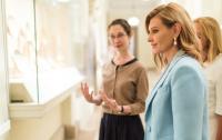Украинский язык зазвучит в музеях мира, - Елена Зеленская