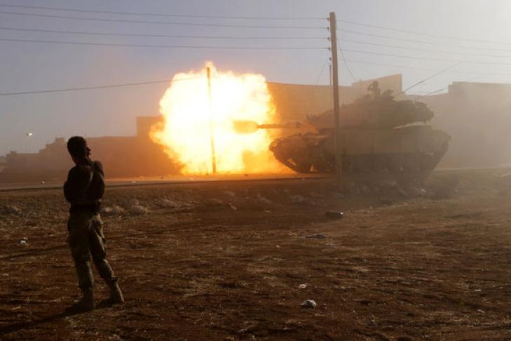 Коалиция США создаст вСирии «силы безопасности границы»