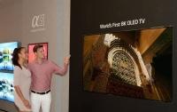 LG представила первый телевизор 8K на 88 дюймов