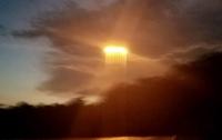 Над Миссури пролетел горящий НЛО