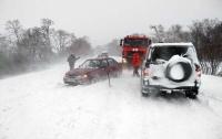 Полиция сообщает, какие дороги перекрыты из-за погоды (фото)