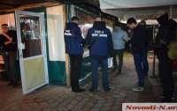 В кафе Николаева задержали группу вымогателей