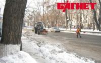 Из Киева вывезли более 340 тысяч тонн снега