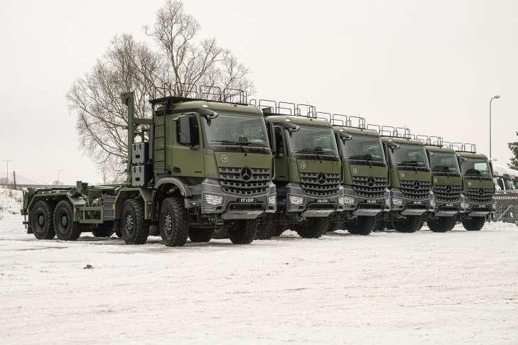 MERCEDES ВЫПОЛНИЛ ВОЕННЫЙ ЗАКАЗ ДЛЯ NATO