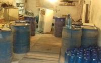 В Запорожской области разоблачили подпольный цех по производству алкоголя