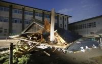 Сильное землетрясение случилось в Японии (видео)