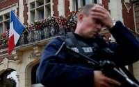 Во Франции полицеские