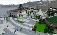 Новую Почтовую площадь Кличко пообещал ко Дню Независимости