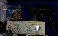 В Киеве во время обыска нашли именной пистолет Чечетова