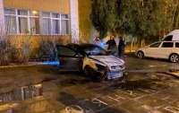 Детектив НАБУ остался без авто (фото)