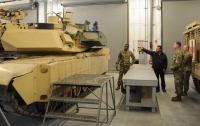 Появилось первое фото модернизированного танка Abrams