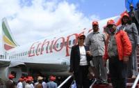 В Эфиопии старый самолет превратили в кафе