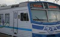 В Киеве городская электричка будет ездить на три станции