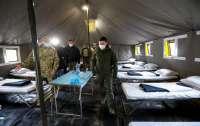 Зеленский прибыл на Донбасс для инспектирования больных COVID-19