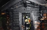 В Киевской области от пожара в бане пострадал человек