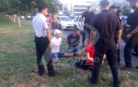 Погоня за преступниками: трое мужчин ограбили
