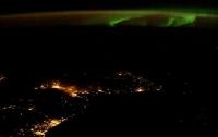 Астронавт NASA опубликовал снимок северного сияния над Шотландией