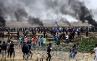 В секторе Газа возобновились столкновения, больше тысячи пострадавших