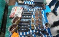В Одесской области обнаружили огромный арсенал оружия (видео)