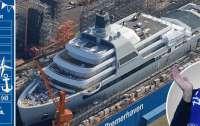 Forbes: Абрамович получит новую 145-метровую яхту Solaris