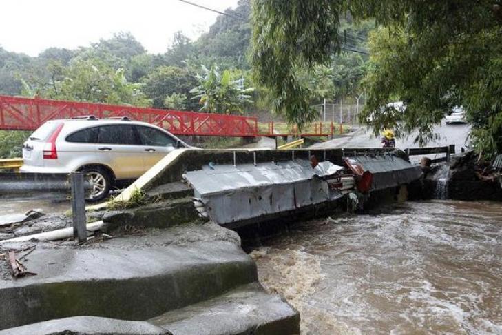 Шторм «Нэйт» свирепствует вНикарагуа иКоста-Рике и грозит США
