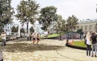 Контрактову площу в Києві плануюють зробити