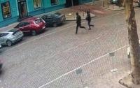В Одессе грабители отобрали сумку с деньгами и случайно забежали в полицию