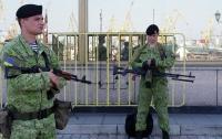 40 человек в балаклавах пытались захватить воинскую часть в Одессе