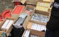 СБУ ликвидировала масштабную контрабанду контрафактных сигарет