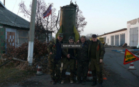 Очередного боевика украинские бойцы превратили в груз-200
